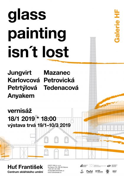 Výstava —glass painting isn´t lost!